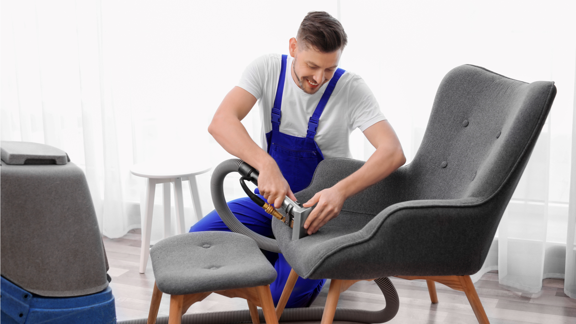 Fabrics stain cleaning services in Hughes