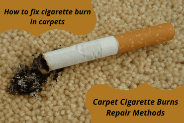 How to fix cigarette burn in carpets