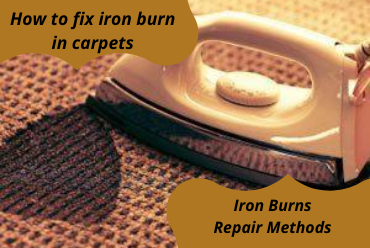 How to Fix Iron Burn Marks from Carpet